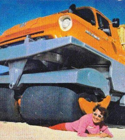 Ser atropelado por um caminhão pode ser divertido e gostoso