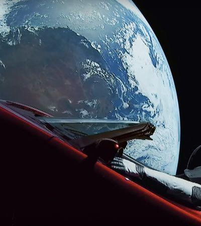 """O criador de Westworld faz trailer para lançamento do foguete """"Falcon Heavy"""", de Elon Musk"""