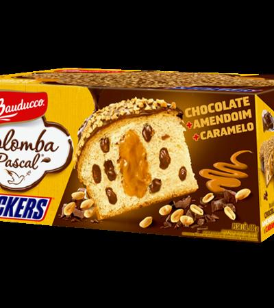 Adeus uva passa: Bauducco lança colomba pascal sabor Snickers