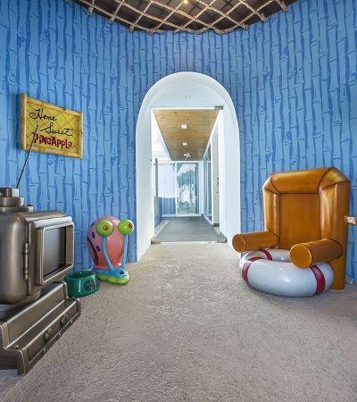 É possível se hospedar numa réplica perfeita da casa do Bob Esponja