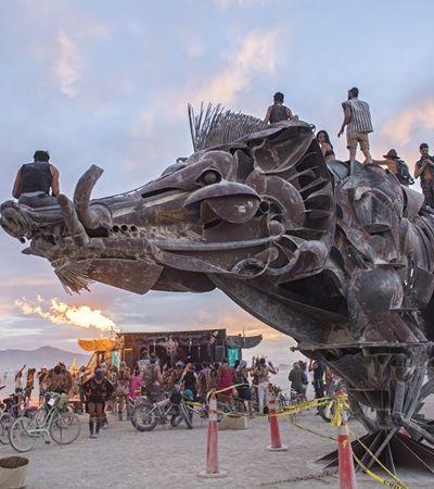 Prepare-se: 'Burning Man' ganha edição brasileira em praia paradisíaca do Nordeste