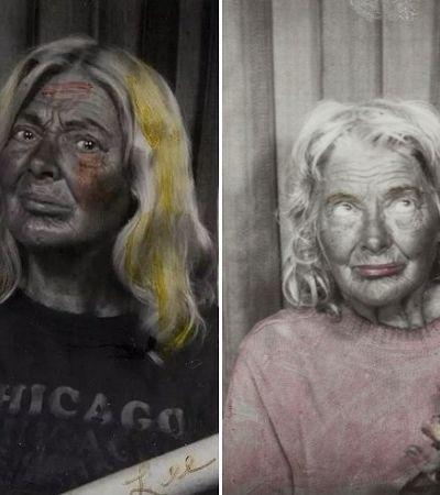 Lee Godie, a artista em situação de rua que transformou pontos de ônibus em ateliê