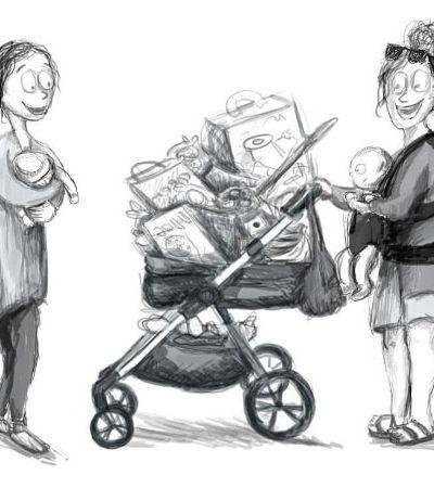 Quadrinhos explicam por que a vida de uma 'recém-mãe' pode ser tão cansativa
