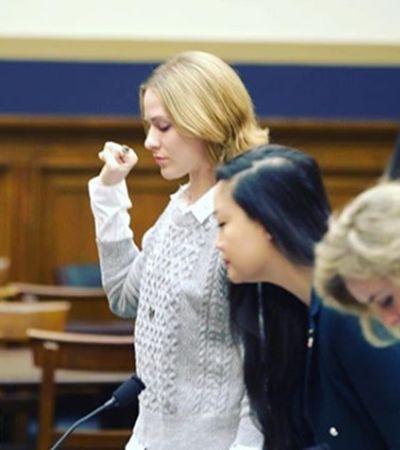 Atriz Evan Rachel narra estupro em depoimento poderoso no congresso dos EUA