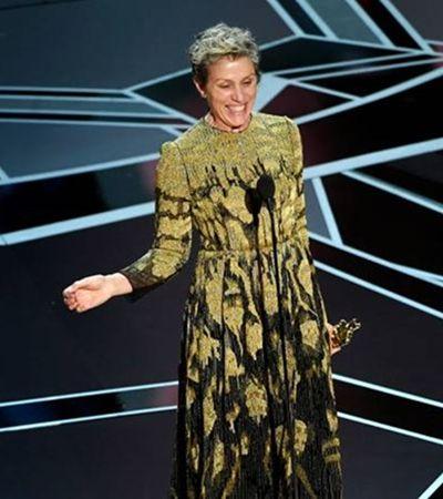 'Todas se levantem': O 'detalhe' que passou batido no discurso feminista de Frances McDormand