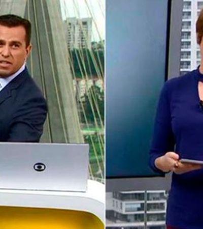 Glória Vanique expõe manterrupting ao vivo em jornal da Globo