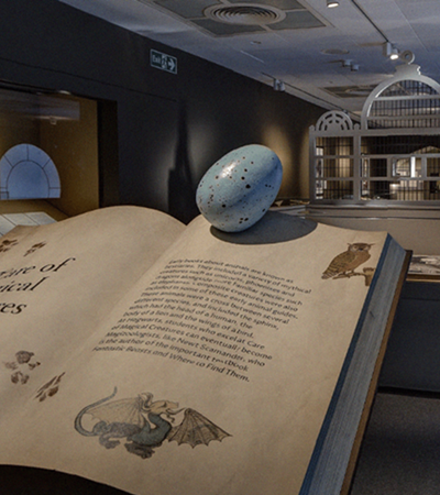 App permite visitar exposição de Harry Potter na Biblioteca Britânica sem cruzar o Atlântico