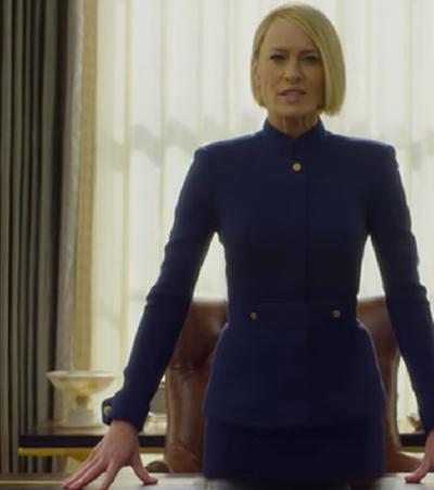Tchau, Underwood: Claire manda e desmanda em 1º trailer de 'House Of Cards'