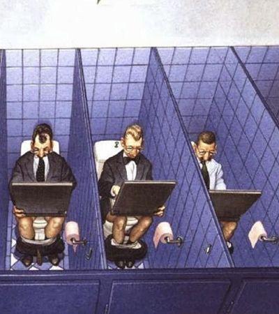 Ilustrações satíricas que expõem com perfeição as tristezas do mundo moderno