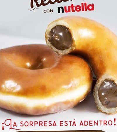 As versões de rosca recheada com Nutella foram atualizadas com sucesso