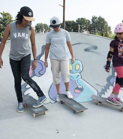 Projeto aposta no skate para empoderar meninas