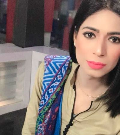 O Paquistão já pode se orgulhar de sua primeira âncora trans na TV