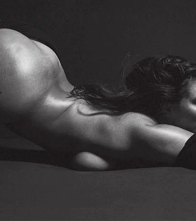 Ashley Graham exibe suas curvas para as lentes de Mario Sorrenti
