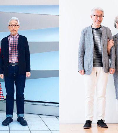 Este casal japonês só sai de casa se estiver vestido 'combinandinho' todos os dias