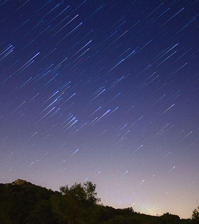 Chuva de estrelas cadentes pode ser vista de todo Brasil nesta semana