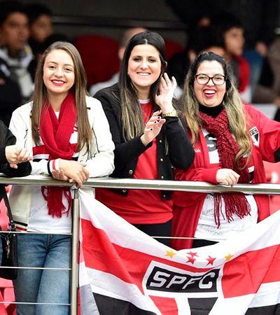 Torcedoras do São Paulo ganham desconto de 30% no táxi para irem ao Morumbi