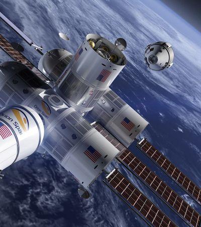 O primeiro hotel de luxo no espaço está quase pronto para te receber a 332 km da Terra
