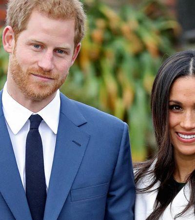 Novo casal real inglês pede doações para causas de presente de casamento