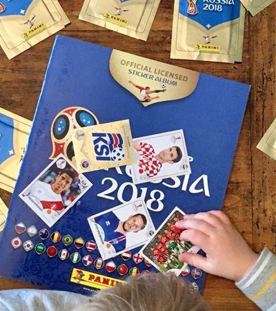 Chamou, colou: Startup cria delivery de figurinhas da Copa do Mundo