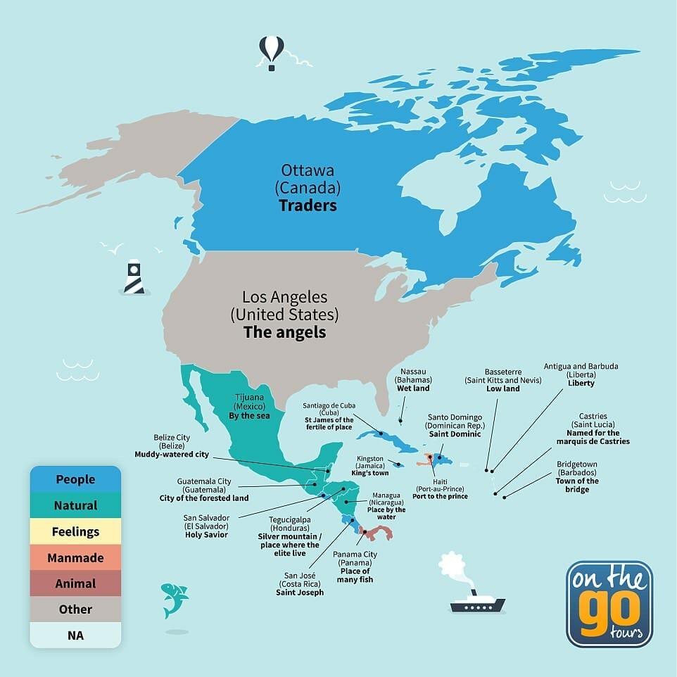 América do Norte e central