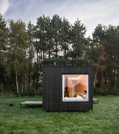 Airbnb da paz: Startup aluga pequenas casas e chalés em áreas isoladas e secretas