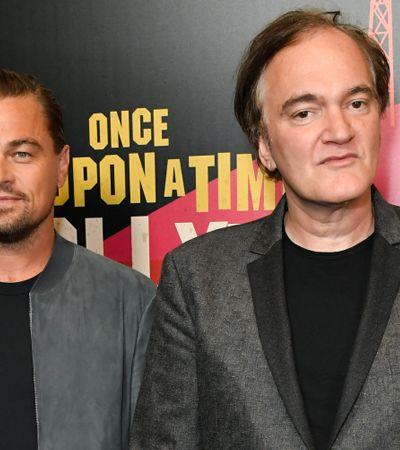Tarantino sobre novo filme com Pitt e DiCaprio: 'O mais próximo de 'Pulp Fiction' que já fiz'