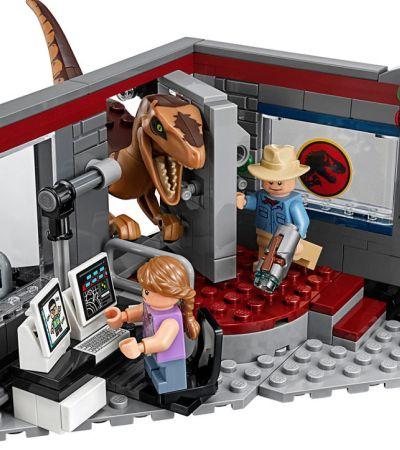 Nostalgia: Novo Lego recria cena clássica do velociraptor em 'Jurassic Park'