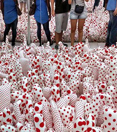 Fomos conferir a exposição da artista que vê bolas em tudo