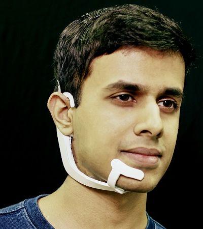 AlterEgo: fone de ouvido desenvolvido pelo MIT fala com você 'por telepatia'