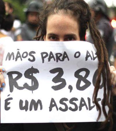 Eles são jovens, engajados e lutam por  um mundo melhor: 4 ativistas comentam  os atos contra o aumento da passagem