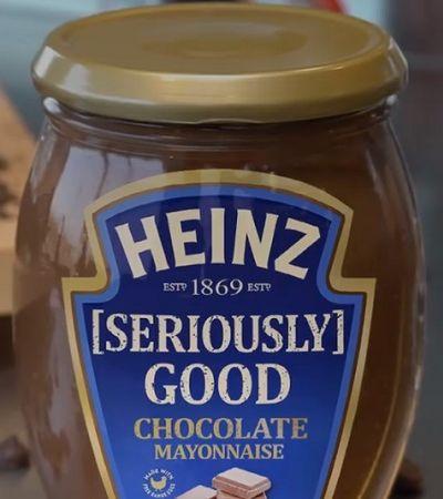 Heinz lança maionese de chocolate e já tem gente contando minutos para experimentar