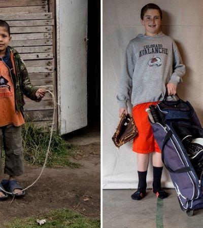 Crianças de diferentes lugares e realidades mostram seus brinquedos favoritos