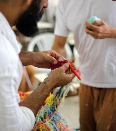 Projeto Ponto Firme: detentos criam peças de crochê para SPFW