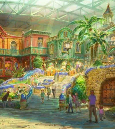 Quer saber como será o parque temático do Studio Ghibili? Saíram as primeiras imagens!