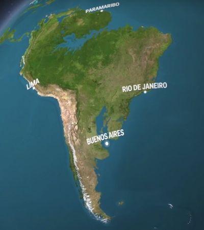 Mapa animado mostra como será a Terra se todo o gelo derreter