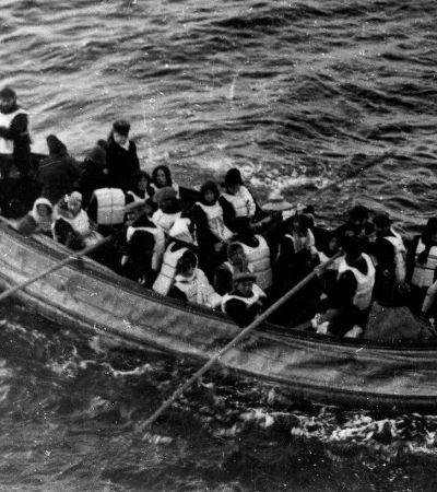 Estas fotos mostram o que aconteceu logo após o naufrágio do Titanic