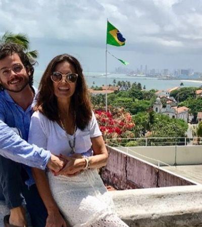 A internet é só amor com a entrevista do namorado de Fátima Bernardes