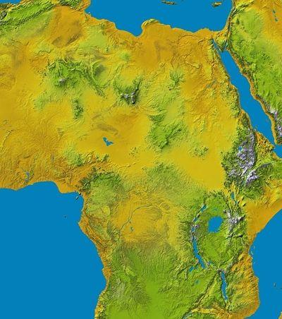 A enorme fenda que pode separar a África em duas