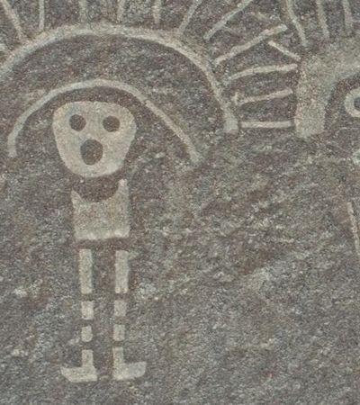Mais de 50 novas marcas 'alienígenas' são encontradas em deserto no Peru