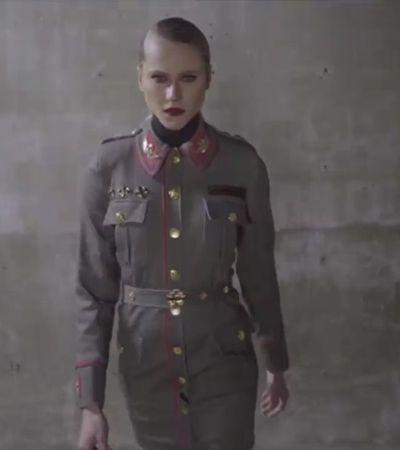 Marca é acusada de nazismo por coleção com Cruz de Ferro e uniformes militares