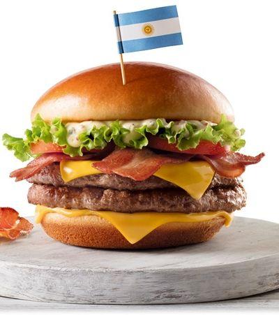 MC Donald's lança sanduíches temáticos dos oito países campeões da Copa do Mundo