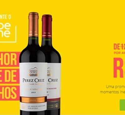 Promoção baixa assinatura de clube de vinhos para R$ 1