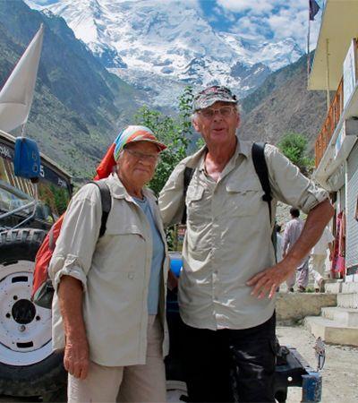 Casal de idosos já conheceu 194 países em 60 anos de viagens compartilhadas