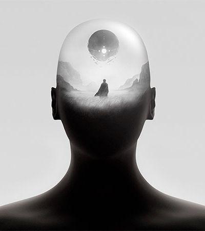 Ilustrador combina surrealismo e anime para ir além da ficção científica