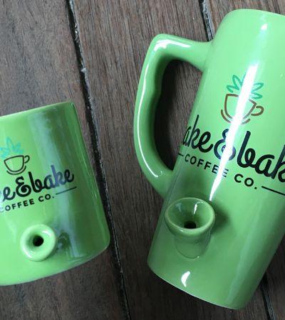 Wake & Bake: Esta caneca inovadora também funciona como um bong