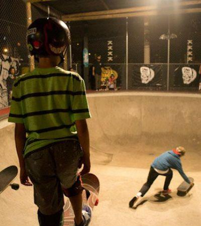 Conhecemos o espaço que mistura skate e balada em SP