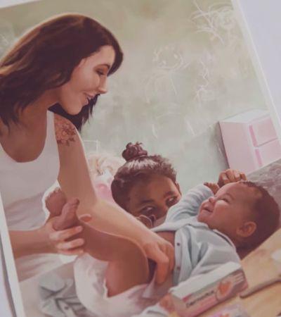 Ação cria imagens para o memórias das crianças com seus pais antes de serem adotadas