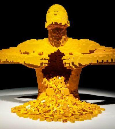 Incríveis esculturas de LEGO do artista Nathan Sawaya ganham mostra em SP