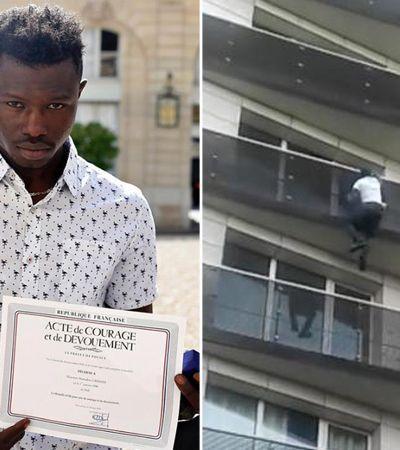 Pela lei atual, imigrante malinês que salvou bebê deveria ser expulso da França