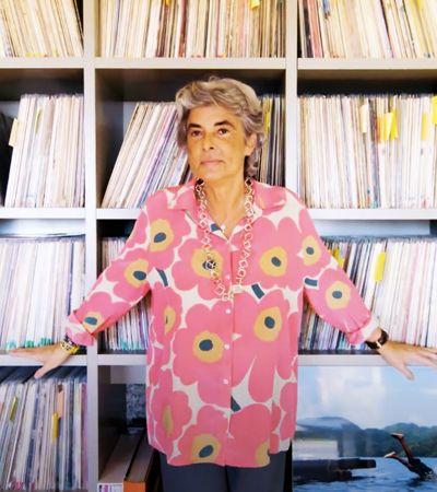 Com 50 mil LPs e 40 mil CDs, ela tem uma das maiores coleções de música latina do mundo
